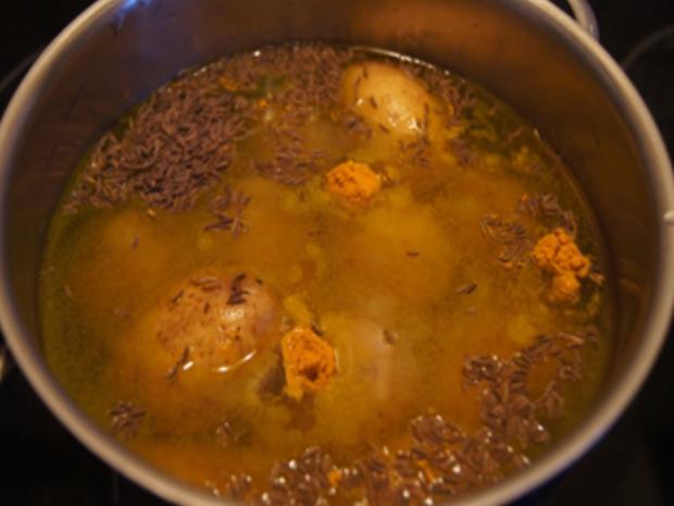 Weißer Heringssalat mit Pellkartoffeln - Rezept - Bild Nr. 5
