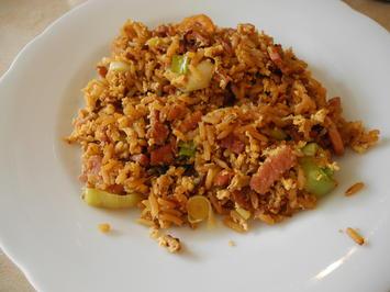 Gebratener Reis - Rezept - Bild Nr. 2