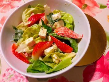 Kopfsalat mit Erdbeeren - Rezept - Bild Nr. 2