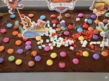 Schokoladen Blechkuchen - Rezept - Bild Nr. 10375
