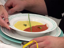 Raffinierte rote und gelbe Paprikasuppe - Rezept - Bild Nr. 2