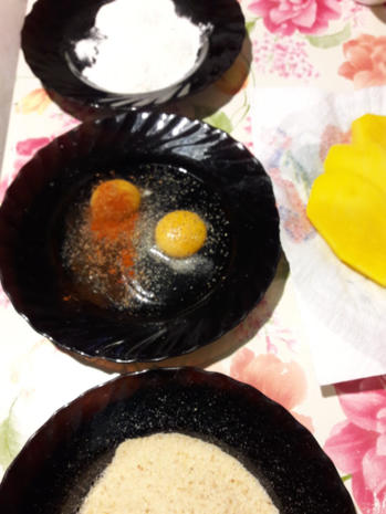 Süßkartoffelpüree mit Steckrüben Schnitzel - Rezept - Bild Nr. 11