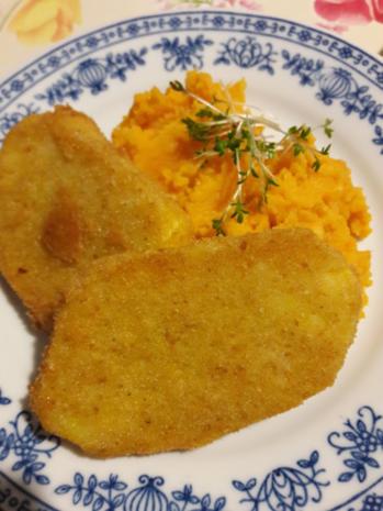 Süßkartoffelpüree mit Steckrüben Schnitzel - Rezept - Bild Nr. 16