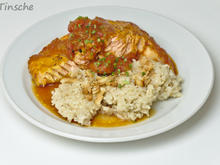 Tomaten-Ofen-Lachs mit Kokosreis - Rezept - Bild Nr. 6