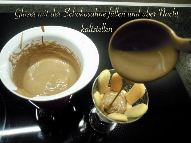 Rüdesheimer Schokocreme  - Wir bauen uns ein Rezept: Nr 3 - Rezept - Bild Nr. 9916