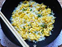 Chinesische Reispfanne mit Blütenreis - Rezept - Bild Nr. 2