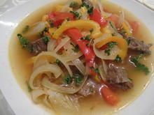 Zwiebel-Paprika-Suppe - Rezept - Bild Nr. 9930