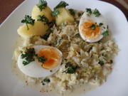 Wirsing-Senfrahm mit Ei und Kartoffeln - Rezept - Bild Nr. 9934