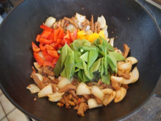 Putenbrustfilet süß sauer mit Curryreis - Rezept - Bild Nr. 11
