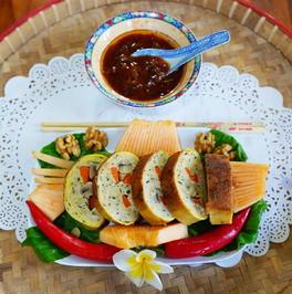 Rouladen mit Hühnerfleisch und Pilzen - Rezept - Bild Nr. 2
