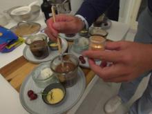Zerlaufenes Schokoladenküchlein mit Zitronensorbet - Rezept - Bild Nr. 3