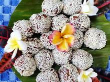 Frittierte Tofubällchen im Sesam-Mantel - Rezept - Bild Nr. 2