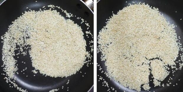 Frittierte Tofubällchen im Sesam-Mantel - Rezept - Bild Nr. 4