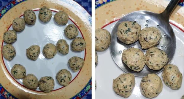 Frittierte Tofubällchen im Sesam-Mantel - Rezept - Bild Nr. 7
