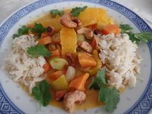 Gemüse-Orangen-Curry - Rezept - Bild Nr. 9953