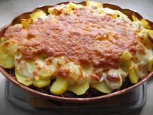 Wirsing-Kartoffel-Auflauf mit Hackfleisch und Reibekäse - Rezept - Bild Nr. 2