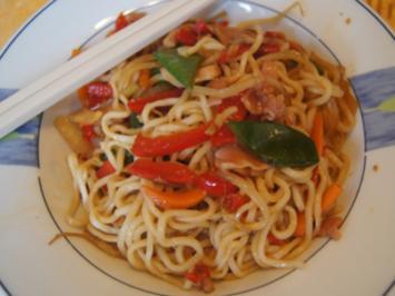Mie-Nudeln chow mein - Rezept - Bild Nr. 2