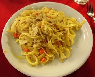 Bacalhau mit Pasta - Rezept - Bild Nr. 2