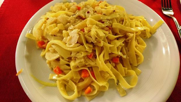 Bacalhau mit Pasta - Rezept - Bild Nr. 6