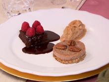 Natürlich süßes Dreierlei: Brownie, Eis und Pie (Schoko / Birne / Pekannuss) - Rezept - Bild Nr. 2