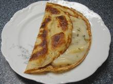 Pfannkuchen mit Spargelragout - Rezept - Bild Nr. 2