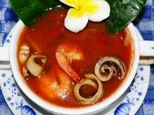 Feurige, rote Seafood-Suppe Kuta indah - Rezept - Bild Nr. 2