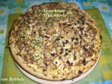 Torte pikant: Sauerkrautschichttorte - Rezept