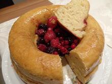 Orangen-Savarin-Kuchen mit Beeren - Rezept - Bild Nr. 10012