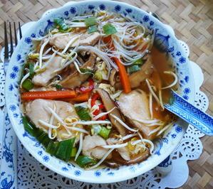 Chinasuppe, süß-sauer-scharf - Rezept - Bild Nr. 2