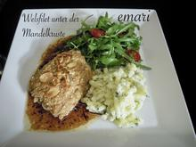 Wels Filet unter der Mandel Haube - Rezept - Bild Nr. 2