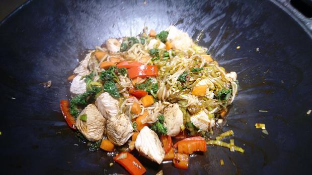 Wokgemüse mit Grünkohl - Rezept - Bild Nr. 8