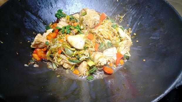 Wokgemüse mit Grünkohl - Rezept - Bild Nr. 9