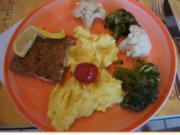 Schlemmerfilet mit Brokkoli, Blumenkohl und Meerrettich-Kartoffelstampf - Rezept - Bild Nr. 2