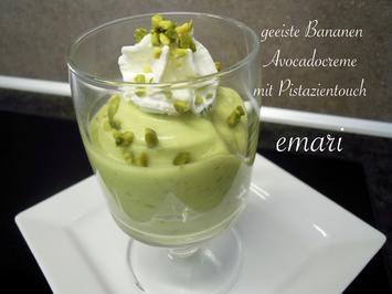 geeiste Bananen Avocado Creme mit Pistazientouch - Rezept - Bild Nr. 9