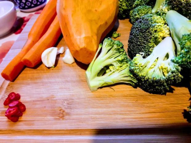 Brokkoli-Möhren-Süßkartoffel-Gemüse - Rezept - Bild Nr. 5