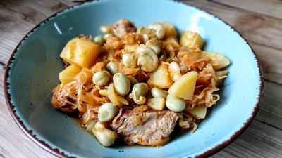 Jota - friaulischer Sauerkrauteintopf - Rezept - Bild Nr. 2