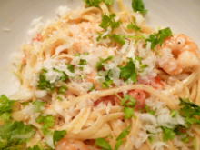 Spaghetti mit Garnelen - Rezept - Bild Nr. 2