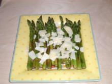 Gegrillter Spargelsalat - Rezept