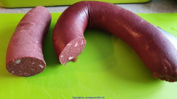 Puttespraline serviert auf Rote Bete Bohnensalat und Apfelchutney - Rezept - Bild Nr. 10037
