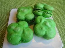 """Glücksklee-Macarons"" - Rezept - Bild Nr. 2"