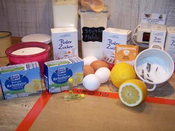 Zitronen Kuchen im Glas - Rezept - Bild Nr. 10031