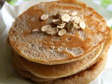 Frühstück: Vegane Bananen-Pancakes - Rezept - Bild Nr. 2