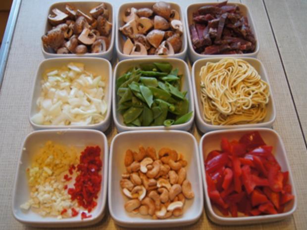 Rindfleischcurry mit Gemüsemix und Mie-Nudeln - Rezept - Bild Nr. 9