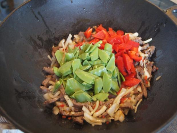 Rindfleischcurry mit Gemüsemix und Mie-Nudeln - Rezept - Bild Nr. 16