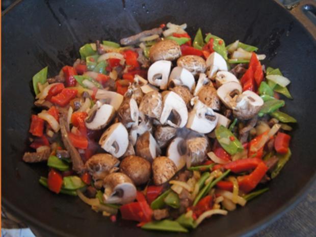 Rindfleischcurry mit Gemüsemix und Mie-Nudeln - Rezept - Bild Nr. 17