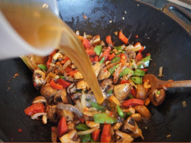 Rindfleischcurry mit Gemüsemix und Mie-Nudeln - Rezept - Bild Nr. 19