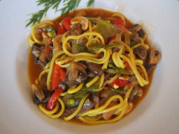 Rindfleischcurry mit Gemüsemix und Mie-Nudeln - Rezept - Bild Nr. 28