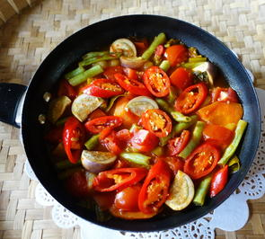 Bunte Gemüsepfanne Setangi - Rezept - Bild Nr. 2