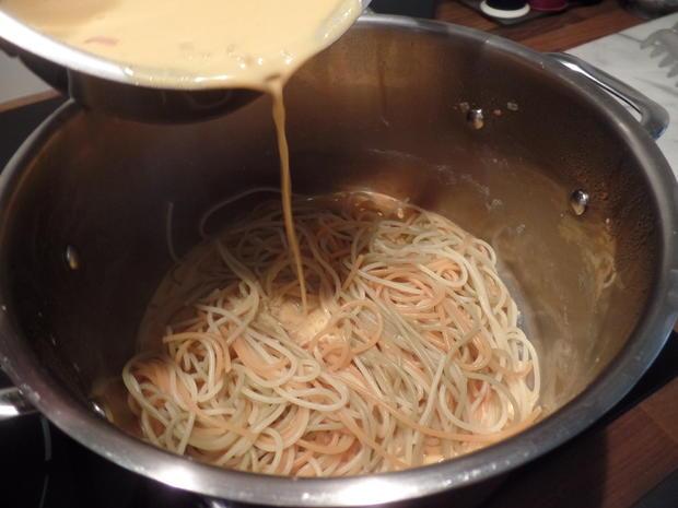Spaghetti-Tricolore mit Möhrensauce - Rezept - Bild Nr. 10059