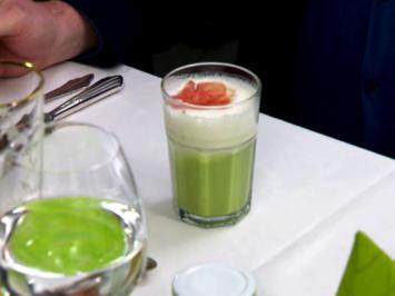 Erbsenschaumsuppe mit Parmaschinken - Rezept - Bild Nr. 2